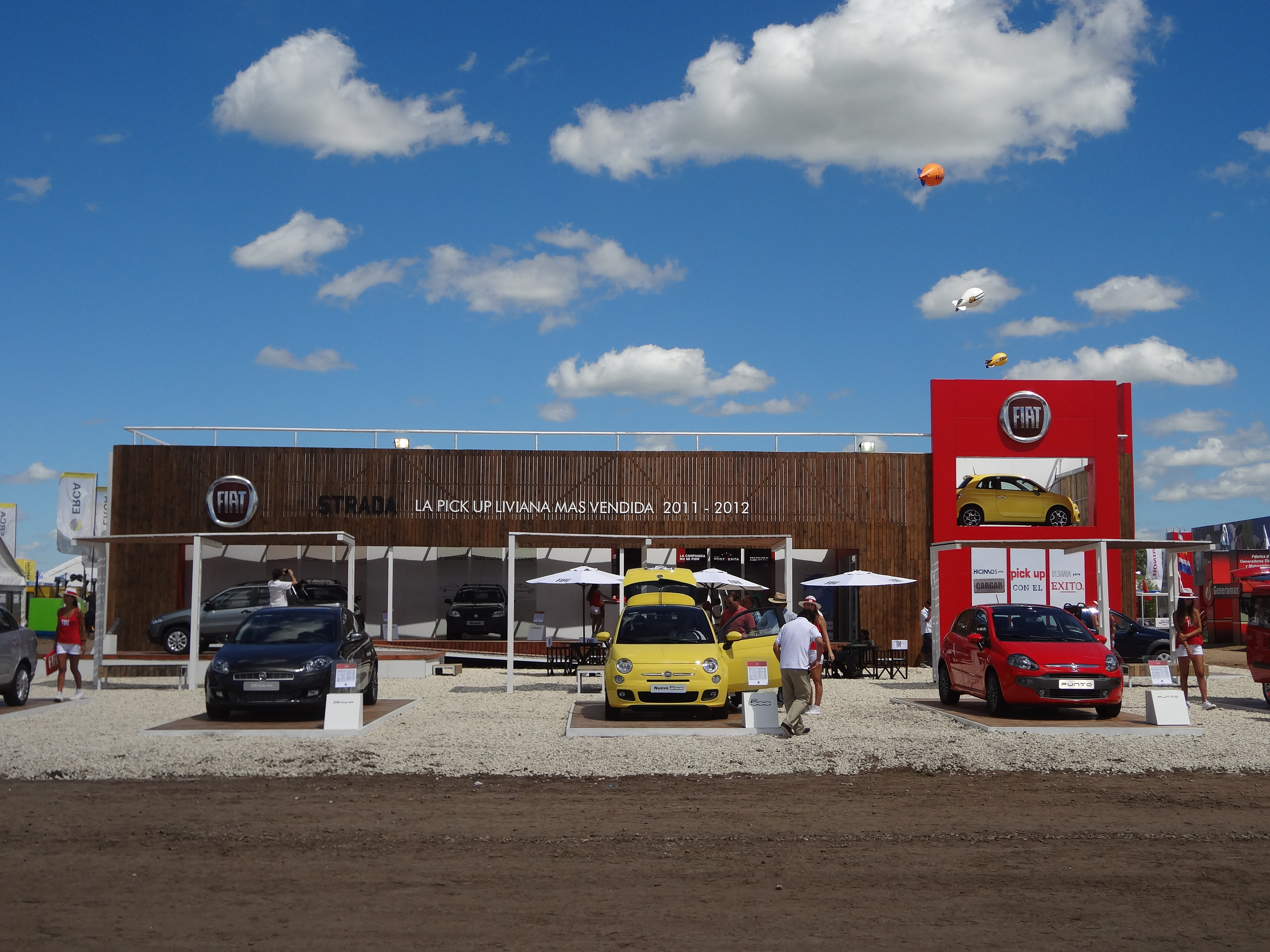 Expoagro Stands : Fiat expoagro u baradero grupo darwin s a
